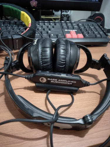 audifonos skullcandy con subwoofer 100% original