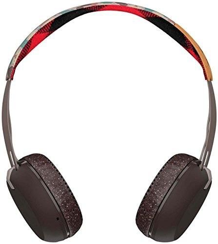 audifonos skullcandy grind bluetooth wireless on plaid