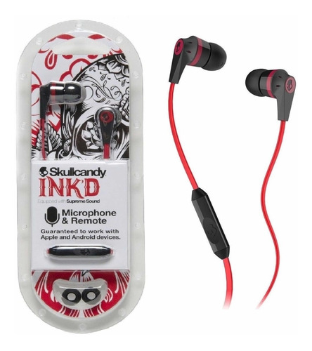 audífonos skullcandy inkd 2.0 2019 supreme sound dj original