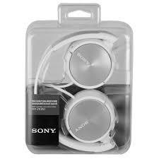 audifonos sony diadema mdr-zx310 alta fidelidad mp3 cel pc b