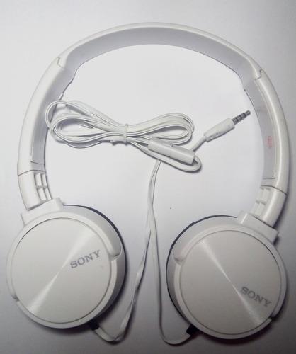 audifonos sony extra bass manos libres microfono telefono