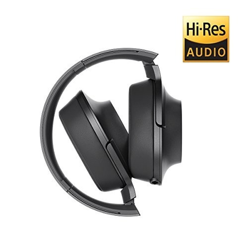 audifonos sony h on premium hi res stereo charcoal black