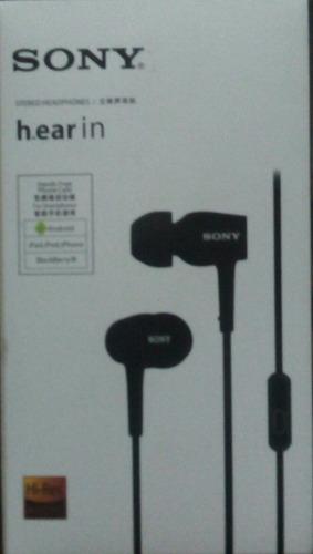 audifonos sony h.earin