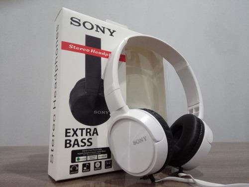 audifonos sony manoslibres extra bass cable fijo 5 colores