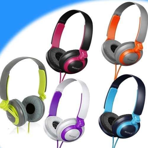 audifonos sony mdr-xb200, con extra-bass, varios colores