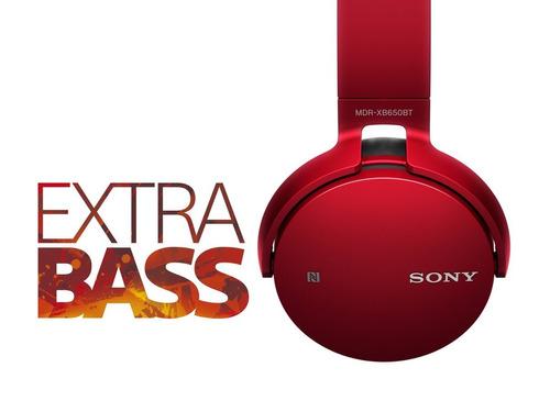 audífonos sony mdr-xb650bt bluetooth extra bass
