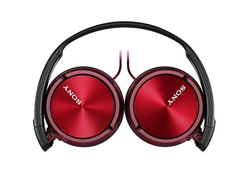 audifonos sony mdr zx310ap r zx series stereo headset red