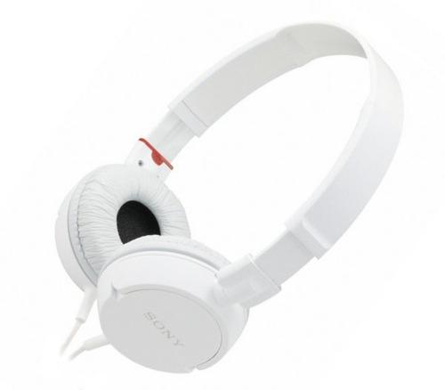 audifonos sony original mdr-zx100 3.5mm blanco