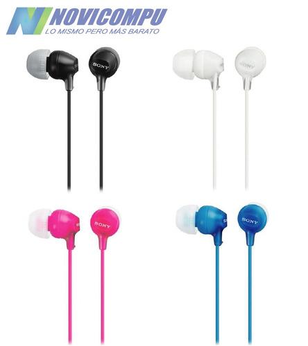 audífonos sony originales mdr-ex15 internos mp3 mp4 ipod