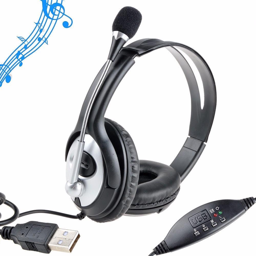 audifonos con microfono para pc usb