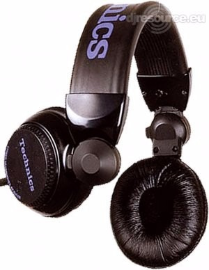audifonos technics rp-dj1200 negros y plata nuevos japon