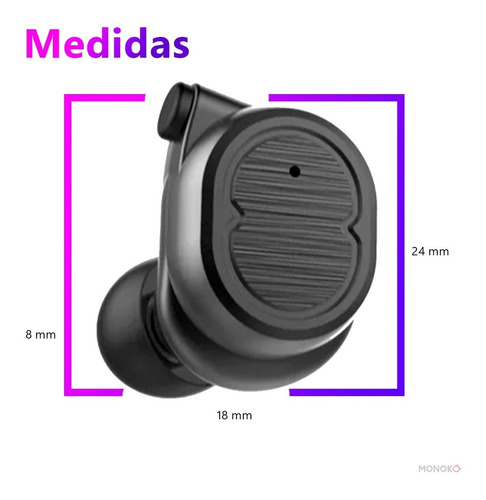 audifonos tws 8 - bluetooth manos libres ipx6