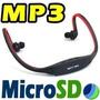 Audifonos Inalambricos Bluetooth Mp3 Porta Microsd Light