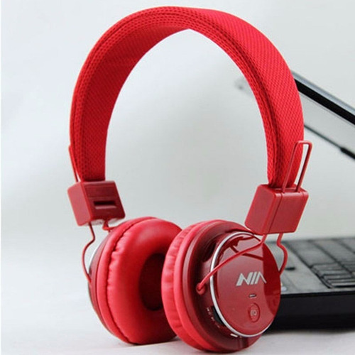 audífonos wa inalámbricos t-001. fm stereo  micro sd