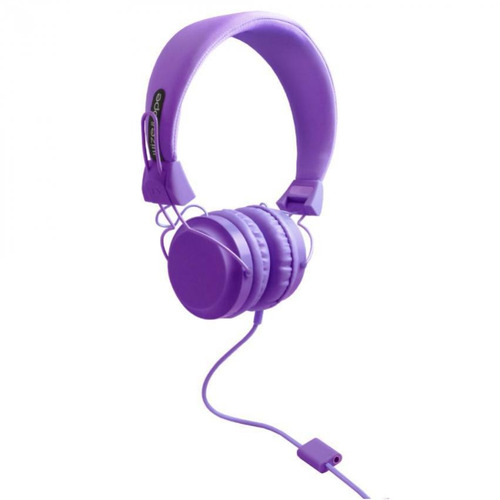 audifonos wize and ope music headphone purple