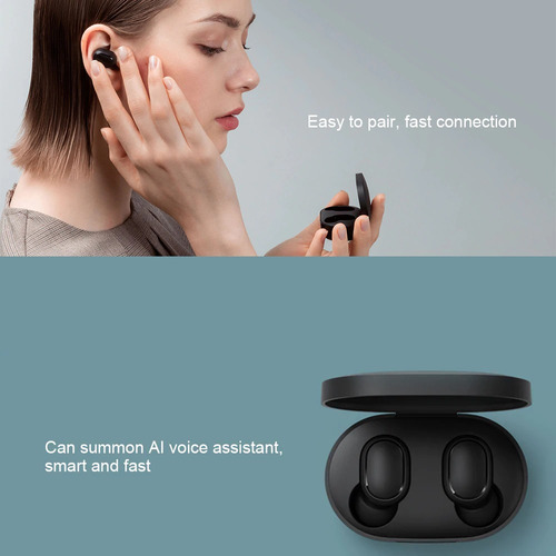 audifonos xiaomi redmi airdots versión global bluetooth5.0