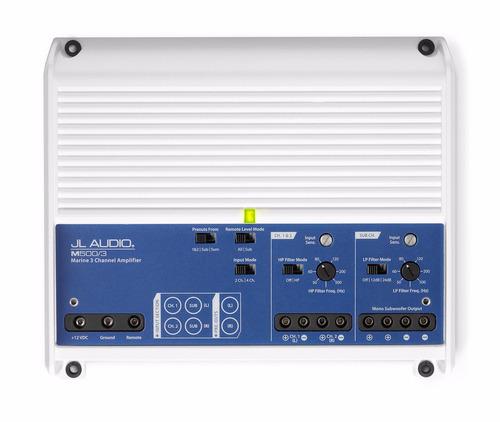 audio 500 amplificador