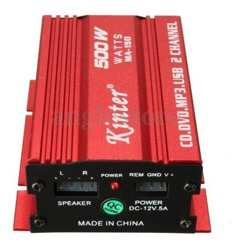 audio amplif amplificador