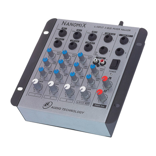 audio canais mesa som
