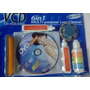 Combo Limpiador De Cd/dvd Yoptico/lente De Dvd/pc/ps2/cd/vcd