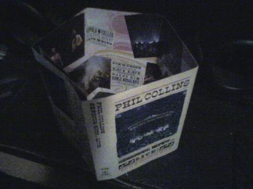 audio cassette phil collins, serious hits live