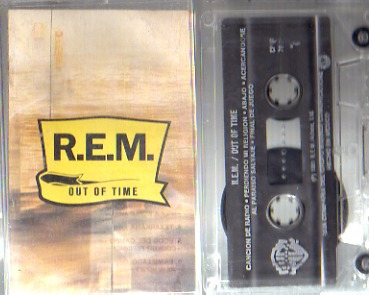 audio cassette r.e.m. out of time