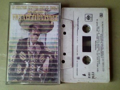 audio cassette vicente fernandez, 15 nuevos exitos
