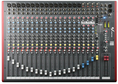 audio consola canales