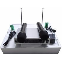 Micrófonos Inalámbricos Vhf Audesbo Sensacionales Ak-206 Myp