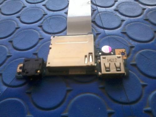 audio lector de tarjetas usb lenovo g50-45 nbx0001ah00 0a