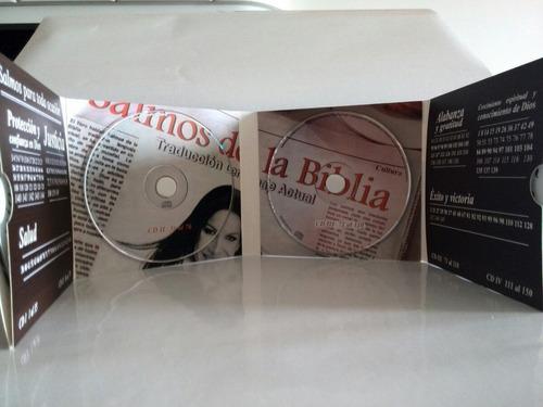 audio libro de los salmos estuche contiene 4 cd /3 verdes