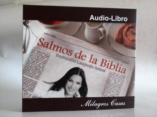 audio libro salmos de la biblia  contiene 4 cd /3 verdes
