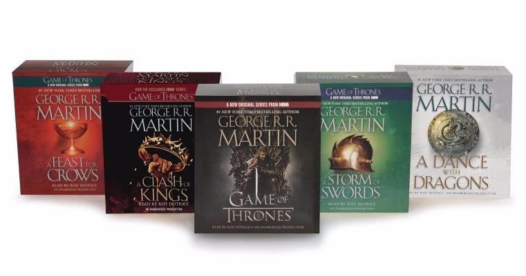 0e7508a92 Áudio Livros Game Of Thrones Box Completo. 6 Audiobooks - R  10
