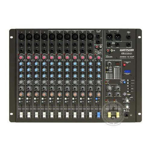 audio mixer ciclotron wattsom ambw 12 xdf - frete grátis