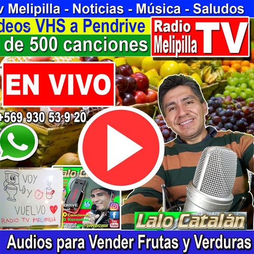 audio para vender frutas y verduras