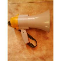 Megáfono De Plástico Sin Batería