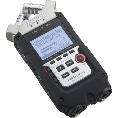 áudio pro gravador