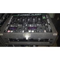 Mini Discplay Denon 6000 Y Mezclador Gemini + Case