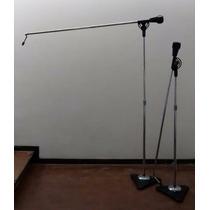 Parales De Microfono Studio Boom Atlas Sound Perfecto Estado