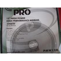Medios Pyle Pro Pmw-12a 500 Rms 8 Ohm 1000 Peak, Miniteca.