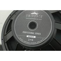 Bajo Eminence Omega Pro 18 A, Hecho En Usa, Miniteca.