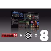 Virtual Dj Pro 8 + Traktor Pro 2 Programa