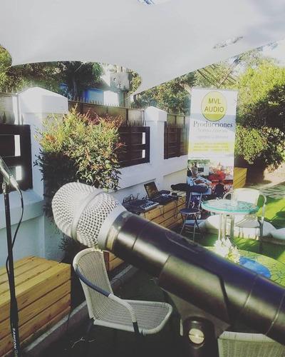 audio profesional para eventos