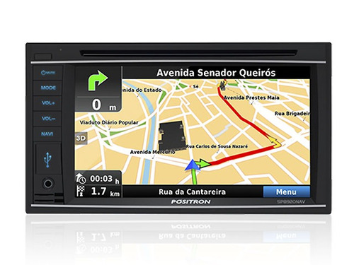 audio reproductor doble din/cd/dvd 6.2´/tv digital/gps