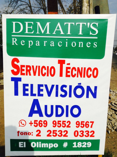 audio. servicio tecnico.