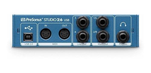 audio studio interface