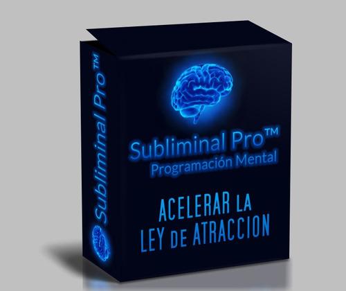 audio subliminal para acelerar la ley de atracción