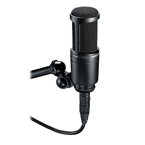 audio-technica at2020 micrófono de condensador  envío gratis