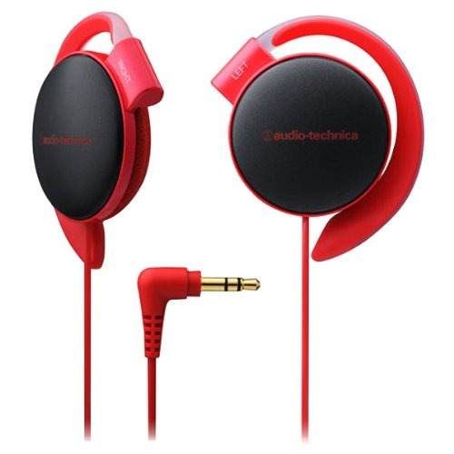 audio technica ath-eq500 rd red | ear-fit headphones (japan