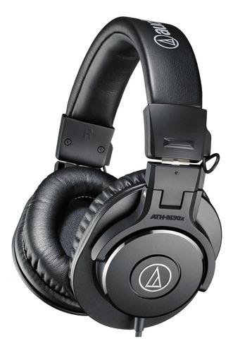 audio technica ath m30x auriculares estudio profesionales dj